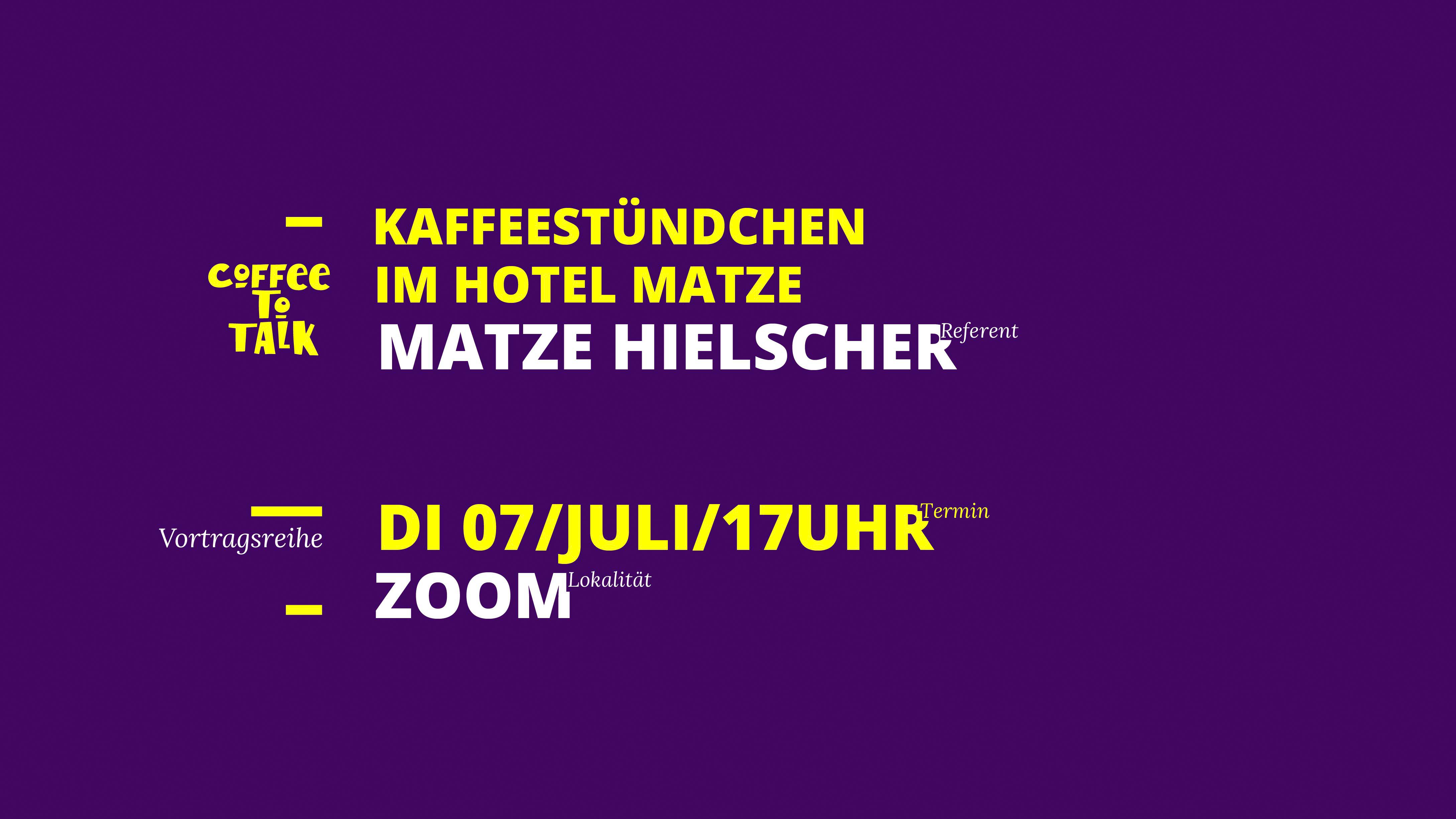 Matze Hielscher